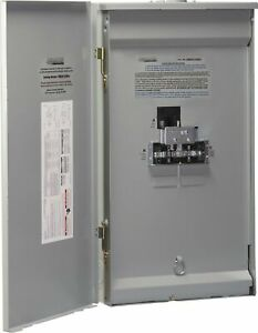 Brand New Reliance Controls Corporation Twb2006dr Outdoor Transfer Panel