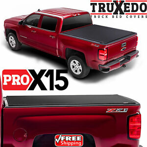 Truxedo Pro X15 Tonneau Roll Up Bed Cover For Gm Silverado Sierra 1500 Short Bed