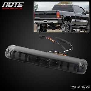 Smoke For 1999 2006 Chevy Silverado Gmc Sierra Led 3rd Brake Light 264115bk