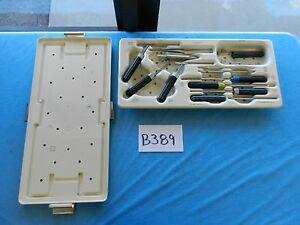 Codman Surgical Orthopedic Acp Instrument Set With Tray