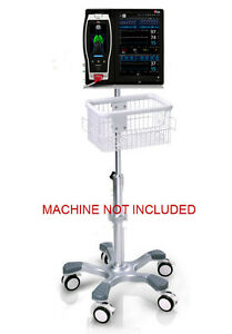 Rolling Roll Stand For Masimo Root Patient Monitor New big Wheel