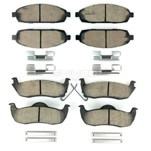 2006 2010 Jeep Commander Grand Cherokee Brake Pads Front And Rear Mopar