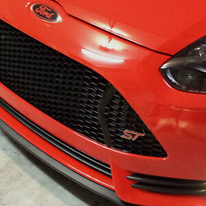 Universal Front Bumper Lip Splitter Body Kit Wing For Ford Focus Mustang Fusion