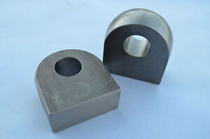 Pair Of Weld On Shackle Mount For D ring 1 Inch Hole Off Road Trailer Tractor