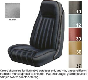 1976 Pontiac Firebird Deluxe Front Bucket Seat Covers Pui