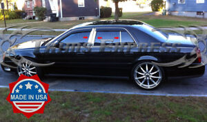 2000 2005 Cadillac Deville 6pc Chrome Pillar Post Stainless Steel Trim
