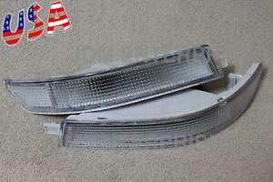 4toyota Corolla 1993 1997 Ae100 Jdm Long Style Bumper Lights Clear Frost Pair