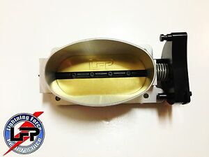 Lfp Big Oval Single Blade Throttle Body Ford 2000 F 150 Svt Lightning Silver