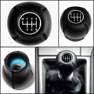 Opel 6 Speed Leather Gear Shift Knob Astra Signum Vectra Combo Corsa Vauxhall
