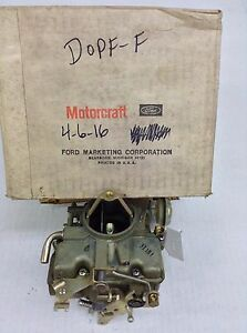 Nos Holley 1940 Carburetor List 4525 D0pf F 1965 1967 Ford Car Truck 240 Engine