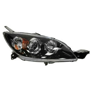 04 09 Mazda3 Headlight Headlamp Xenon Front Head Light Lamp Right Passenger Side