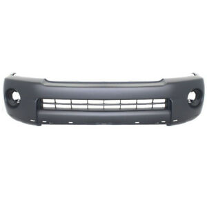 For 05 11 Tacoma Xrunner Pickup Truck Front Bumper Cover Primed To1000305