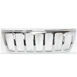 99 03 Grand Cherokee Front Grill Grille Shell W O Insert Ch1200221 55155921ab