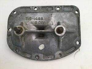 1964 1965 1966 Buick 4 Speed Borg Warner Side Cover T10 148b W G Division Id
