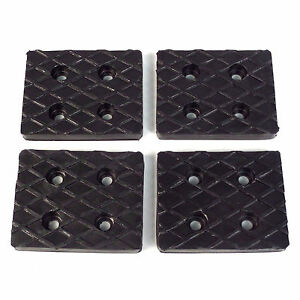 Rubber Arm Pads Set Of 4 For Benwil Bishamon Auto Lifts 50564212 205175