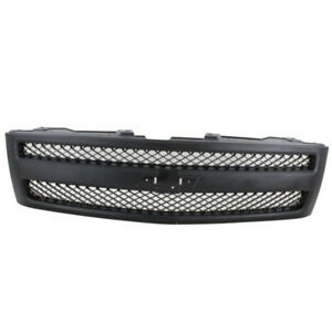 07 13 Chevy Silverado Pickup Truck Front Grill Grille Assembly Black Gm1200578