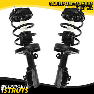 2002 03 Mazda Protege5 Front Quick Complete Strut Coil Spring Assemblies Pair