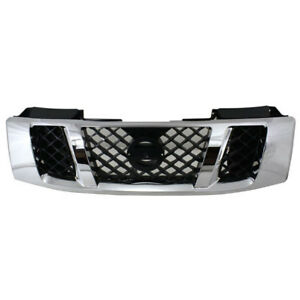 Front Grill Grille Assembly Ni1200240 62310zr00a Fits 08 15 Titan Pickup Truck