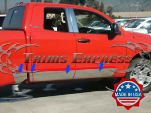 2007 2018 Toyota Tundra Double extended Cab 6 8 Short Bed Rocker Panel Trim
