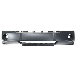 05 07 Gr Cherokee Front Bumper Cover Assembly Primed Plastic Ch1000451 5159130aa