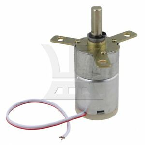 Powerful 12v Dc 25 Rpm High Torque Stabilivolt Electric Gear Motor