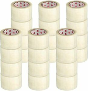 48 Rolls Heavy Duty Shipping Packaging Hot Melt Adhesive Tape 3 X 330 2 0 Mil