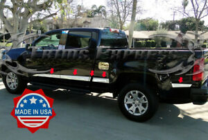 2013 2020 Chevy Colorado Canyon Crew Cab Long Bed Flat Body Side Molding Trim