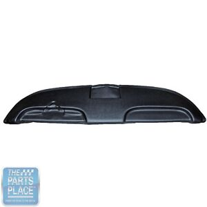 1959 60 Impala Oem Vinyl Covered Seville Grain Dash Pad Black Each