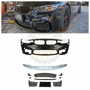 2012 2018 F80 M3 Style Front Bumper W Pdc For Bmw All F30 Non Fog Light Version