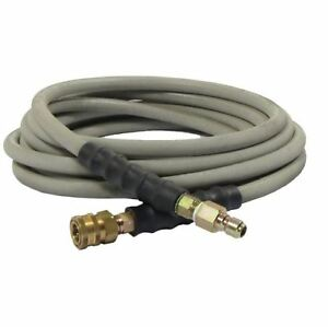 Non marking Pressure Washer Hose 3 8 X 50 4000 Psi W Quick Connects Couplers