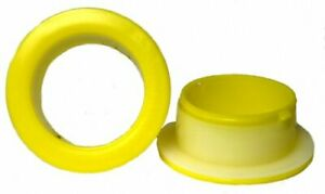 Plastic Hand Saver Dispenser For Stretch Wrap Film Yellow Color 50 Pair