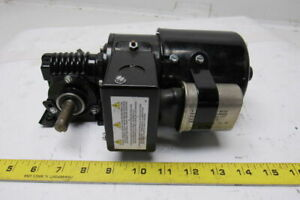 Dayton 1l538b 1 15hp 115 230v 1ph 40 1 Ratio Dual Shaft Gearmotor