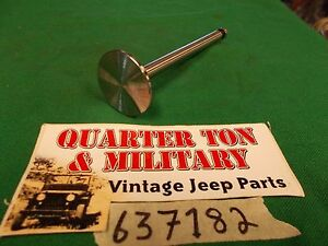 Jeep Willys Mb Gpw Cj2a 134l Intake Valve High Quality