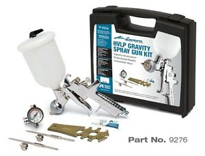 Anest Iwata 9276 Hvlp Gravity Spray Gun Kit