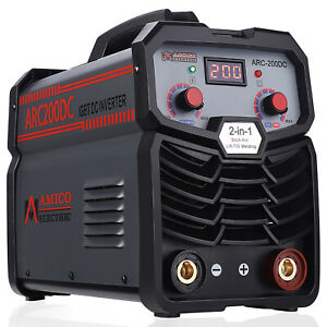 Arc 160d 160 Amp Stick Arc Igbt Inverter Welder 115 230v Dual Voltage Welding