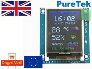 1 8 St7735r Spi 128 X160 Tft Lcd Display Module Breakout For Arduino Rpi Etc