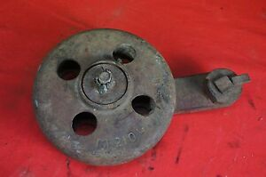 Ih Farmall Mccormick Sickle Hay Mower Outer Shoe Gauge Wheel Pasture Clipper