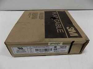 3m Flat Cables 28awg 100ft 3365 30 Nib pzb