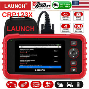 Launch X431 Crp123 Obd2 Engine Transmission Abs Srs Diagnostic Tool