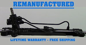 33 2004 2008 Acura Tsx Hydraulic Power Steering Rack And Pinion Complete