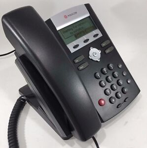 Polycom Soundpoint Ip 320 Sip Phone And Power Supply