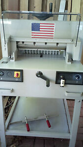 Mbm Triumph 4810 18 5 Paper Cutter 4810 95 Great Condition not Refurb