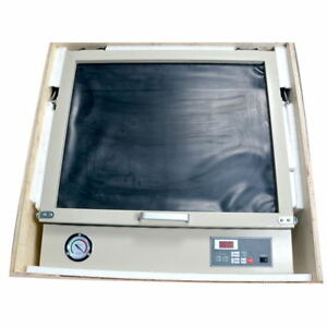 Desktop Uv Exposure Unit For Hot Foil Pad Printing Pcb With Vacuum Screen