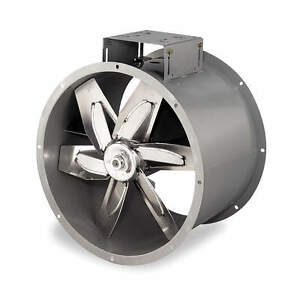 Brand New 24 Dayton Tube Axial Fan Paint Booth Fan