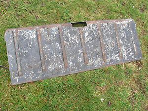 1968 1969 Ford Ranchero Oem Tail Gate Rear Cover