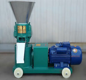 3kw Chicken Duck Feed Pellet Mill Machine Farm Animal Pellet Mill Machine 220v