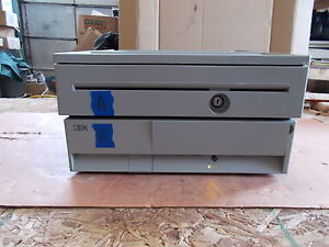 Ibm 4800 e42 Pos System Cash Drawer 41j7674 free Shipping