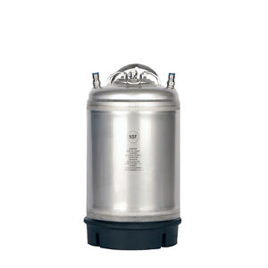 3 Gallon Ball Lock Homebrew Keg New Tap Beer Cold Brew Coffee Free Shipping
