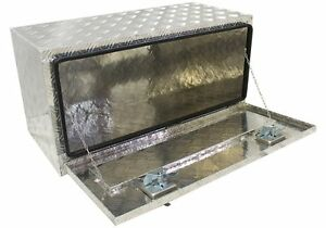 Aluminum 36 Truck Pickup Underbed Underbody Tool Box Trailer Bed Rail Storage