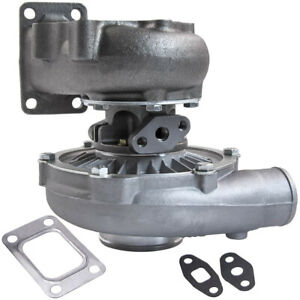 T04e T3 t4 A r 0 63 44 Trim 5 bolt 400 hp Boost Turbo Charger Aftermarket Parts